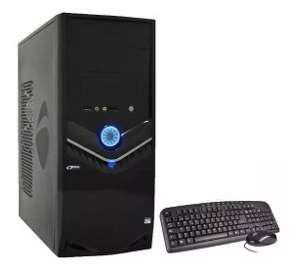 Promoción combo pc (gabinete, fuente, teclado y mouse))