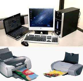 Servicio técnico de computadoras, impresoras y recontadoras