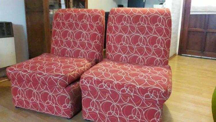 Vendo sillones y puff
