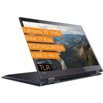 Notebook lenovo i7 quadcore x360 / 512 ssd + 2tb + 20gb /