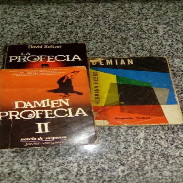 3 libros de suspenso