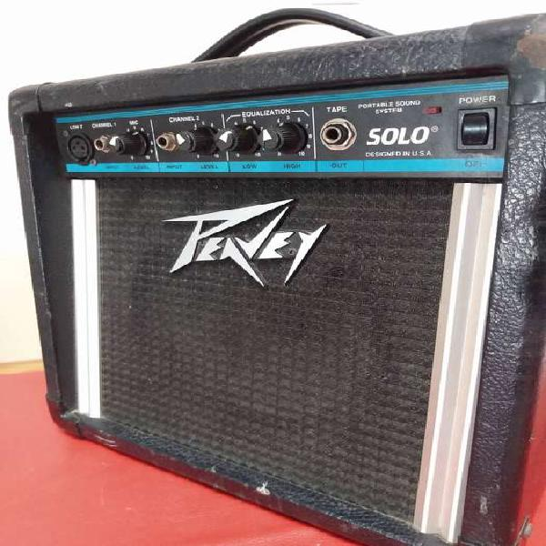 Amplificador peavey - solo - 15 whatts!!! fierro total!!!