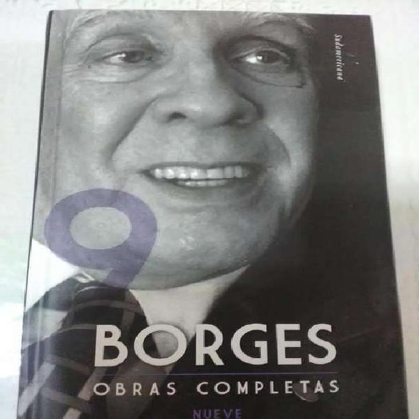 Borges obras completas sudamericana 9