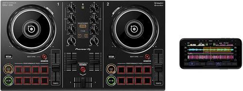 Controlador dj pioneer dj ddj-200 inteligente wedj rekordbox