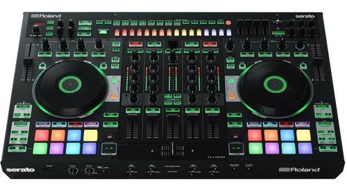 Controlador dj roland dj-808 pop music floresta!!!