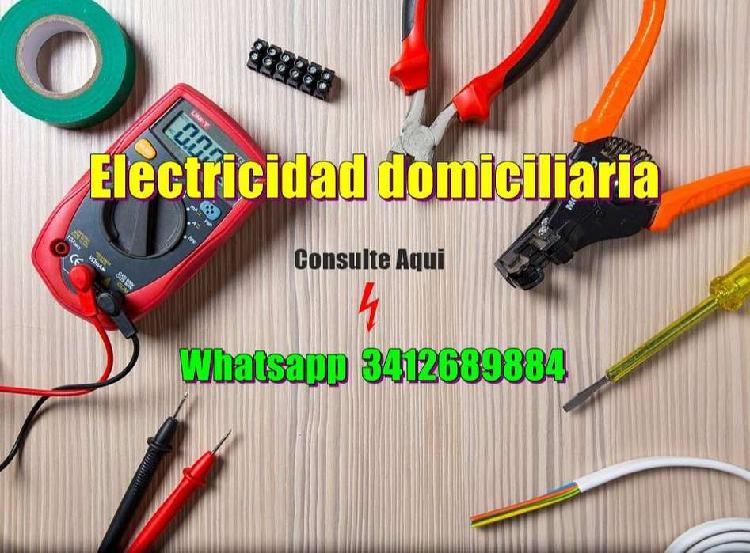 Electricidad domiciliaria en general consulte