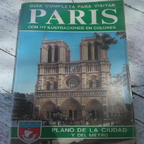 Guía de parís plano de la ciudad y del metro