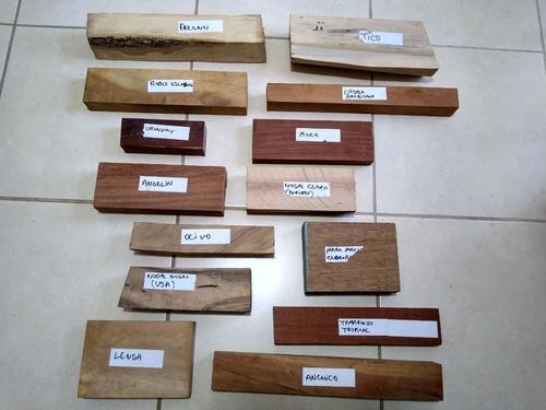 Insumos para cuchillos - maderas para encabar - artesanías