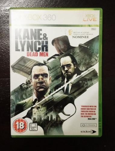Kane & lynch dead men juegos xbox360 original en stock