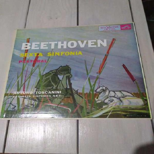 Lp vinilo beethoven sexta sinfonía pastoral (ver