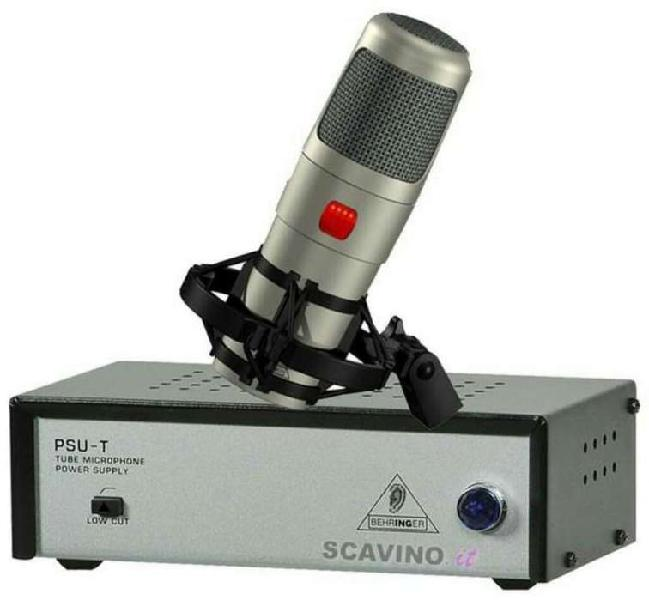 Mic condenser behringer t1 valvular