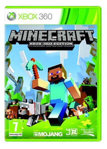Minecraft xbox 360 juego cd original fisico sellado