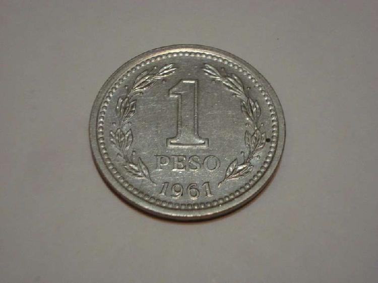 Moneda 1 peso de 1.961 ( dificil )