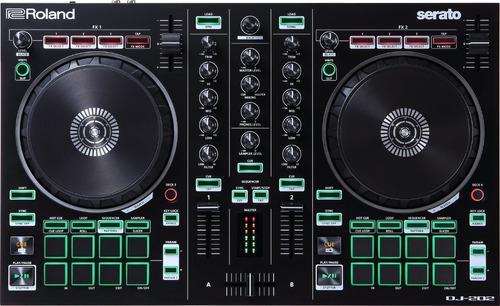 Roland dj202 controlador dj 2 canales usb para serato dj