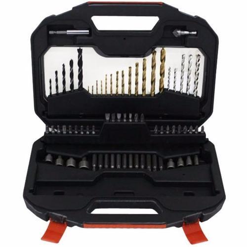 Set 70 piezas accesorios puntas mechas black decker a7184-xj