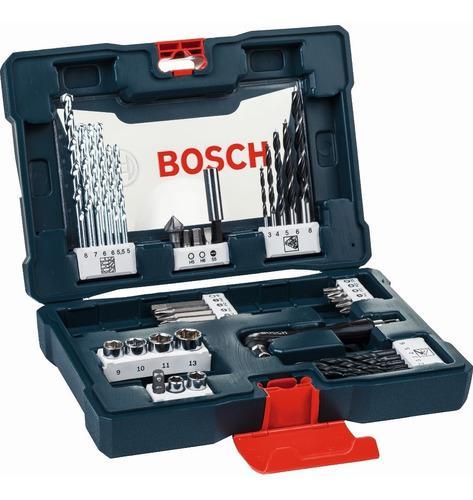 Set v-line bosch 41 accesorios para perforar y atornillar