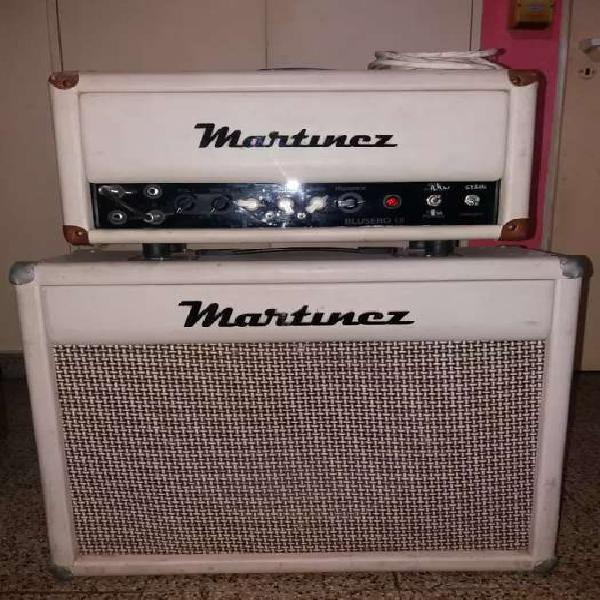 Vendo amplificador de guitarra valvular marca martinez