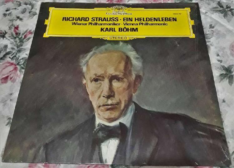 Vinilo ein heldenleben richard strauss - karl bohm 1977