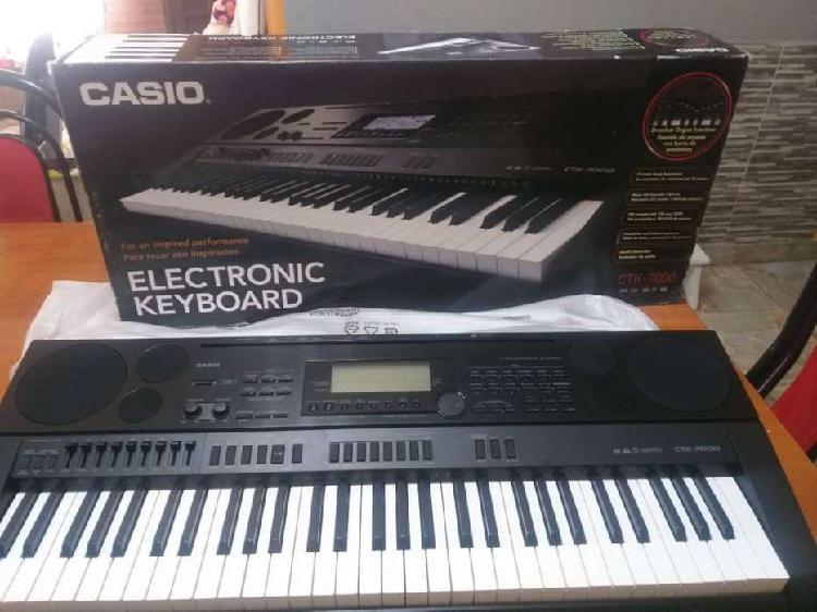 Casio teclado sintetizador ctk 7000