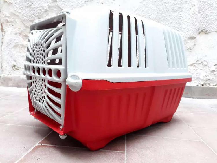 Caja transportadora n2 gatos y perros