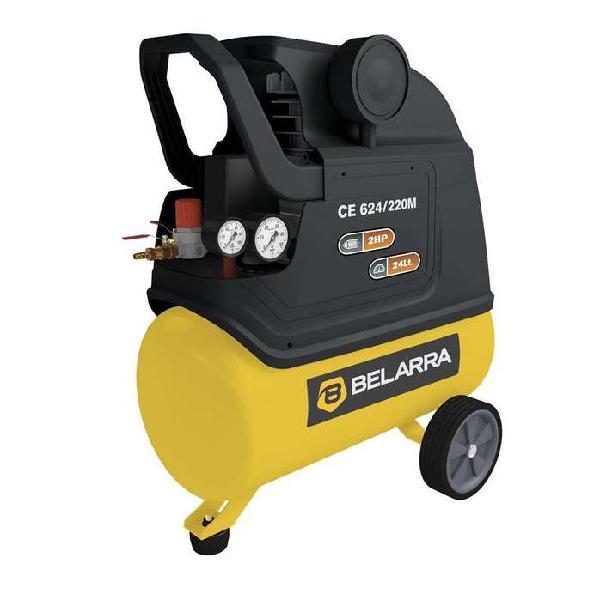Compresor de aire belarra 2 hp 24 litros 115psi portatil