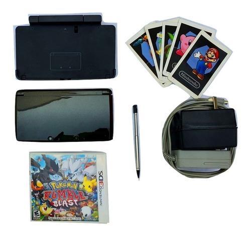Nintendo 3ds original black excelente estado + juego gratis