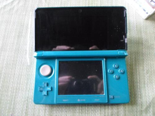 Nintendo 3ds original - juegos - cargador + transformador.