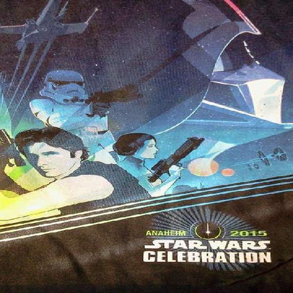 Remera star wars!!! original, oficial, nueva!!!