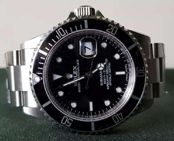 Reloj rolex submariner automático