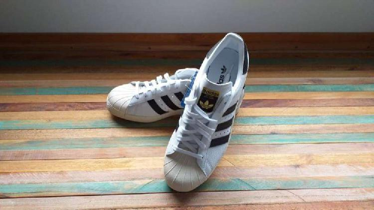 Zapatillas adidas superstar 80s originals gold label unicas!