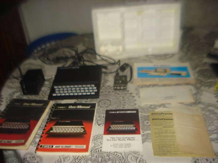 Computadora Timex Sinclair 1000 Vintage Funciona No Envio