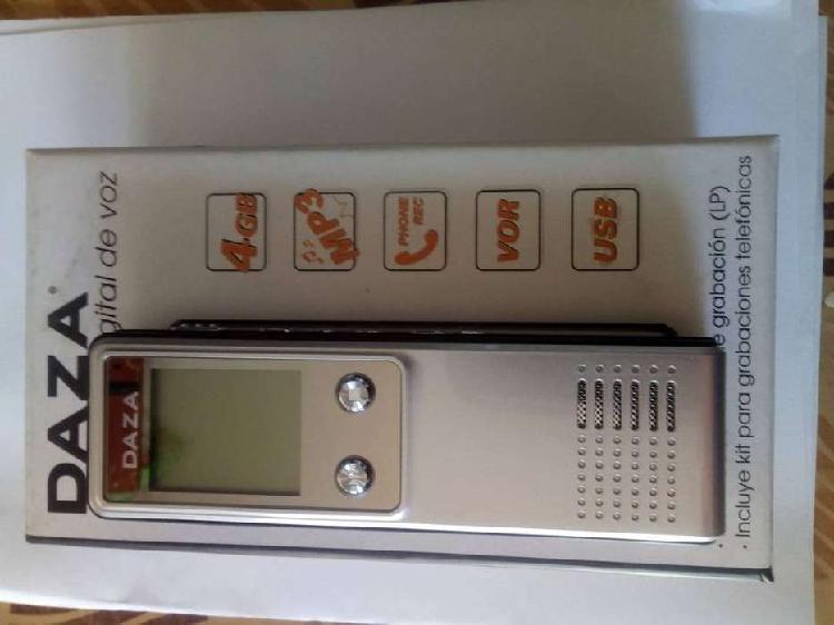 Grabador digital de voz
