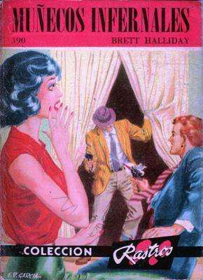 Libro: muñecos infernales, de brett halliday [novela de