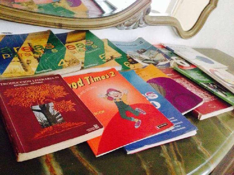 Libros usados titulos varios 20 ejemplares