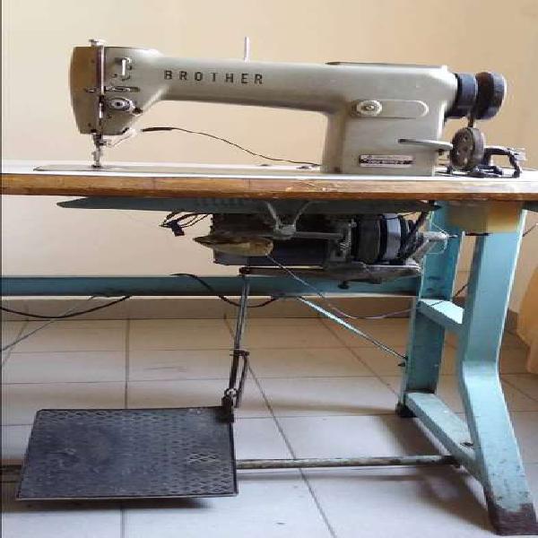 Maquina de coser recta industrial brotherr