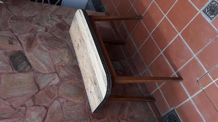 Mesa madera plegable
