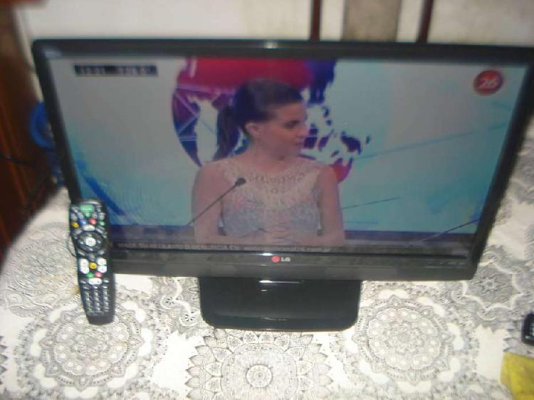 Televisor tv led lg 24mn42a impecable c/ctrl rem no envio