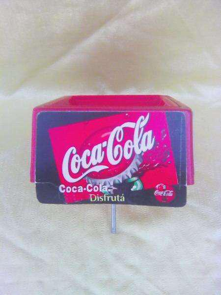 Bandeja de kiosco coca cola de colección