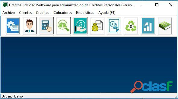 Software para gestion de creditos y prestamos