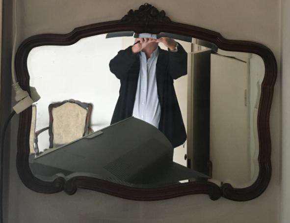Espejo provenzal - impecable!!!