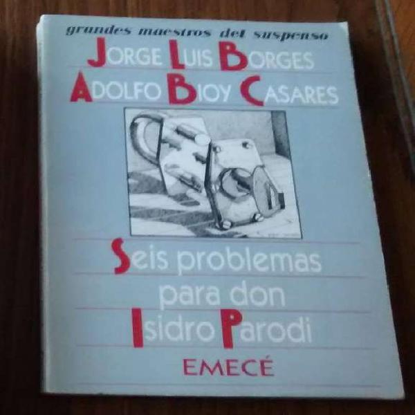 Libro seis problemas para don isidro parodi