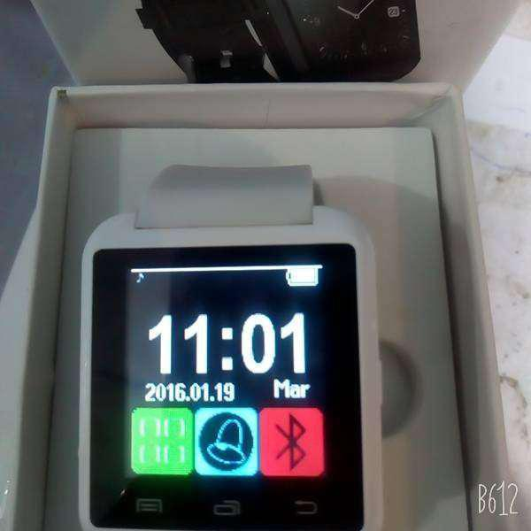 Smartwatch u8 reloj inteligente celular android bluetooth