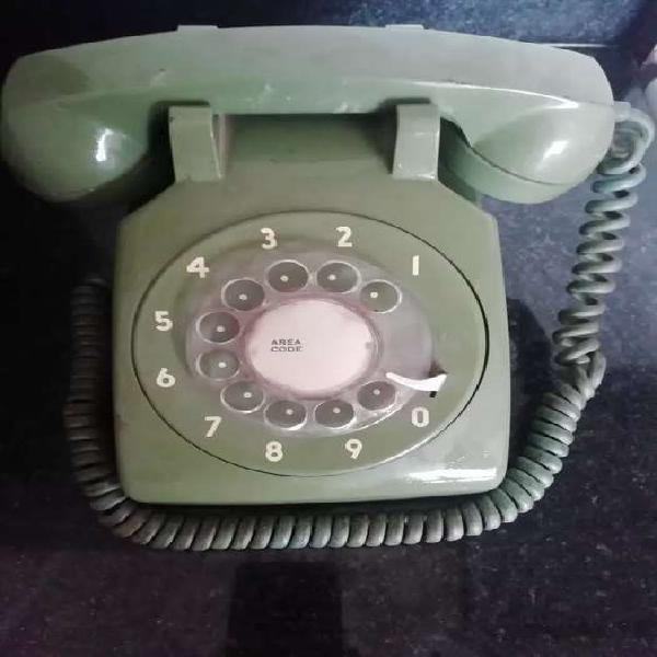 Telefono vintage retro itt a disco