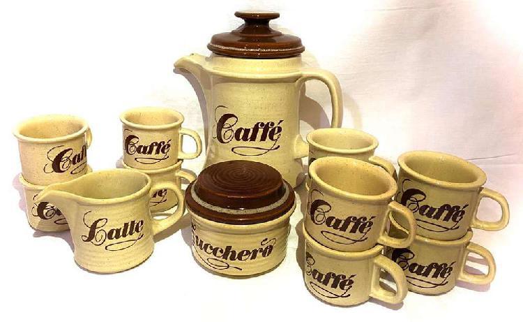 Vajilla ancers de cerámica