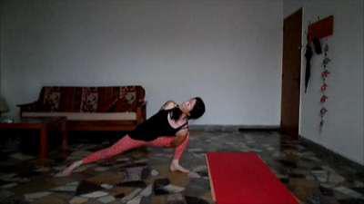 Yoga en casa !!