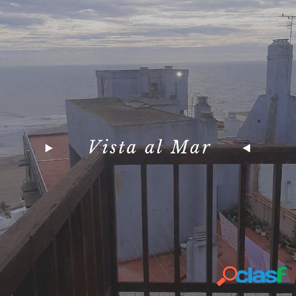 Departamento 3 amb, con cochera vista al mar, bolivar y guemes