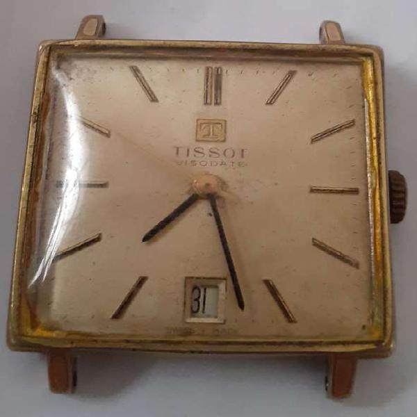 Antiguo reloj tissot visodate automatico funcionando