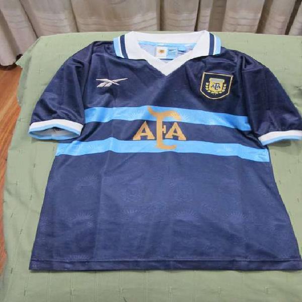 Camiseta afa selección argentina 1999 reebok