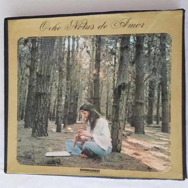 Discos de vinilo – álbum – ocho notas de amor – cbs