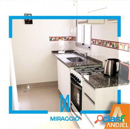 1 dormitorio b con patio - edificio miraggio